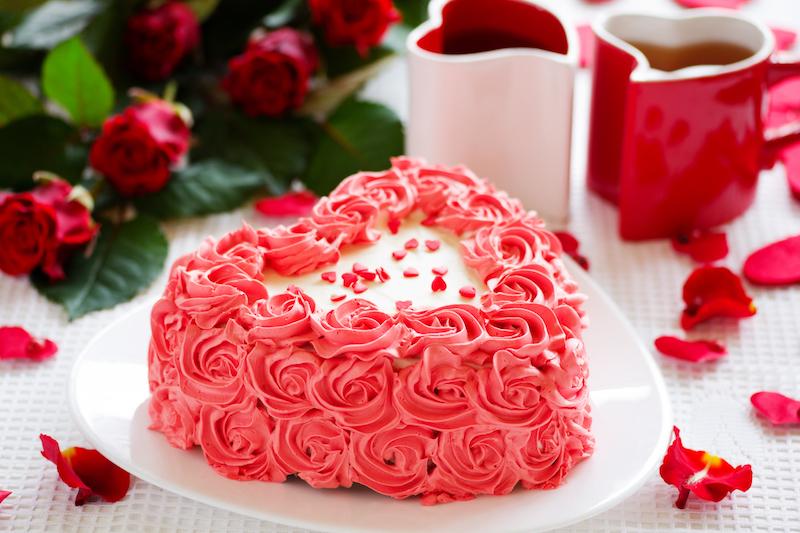 Torta San Valentino a cuore