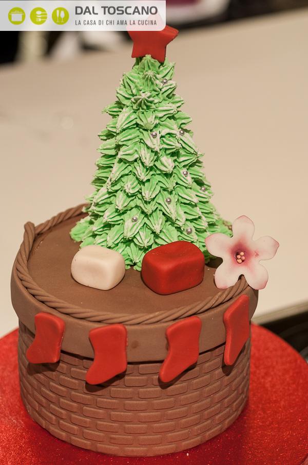 cake design natalizio albero natale