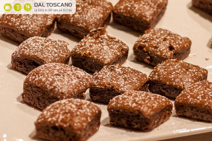 ricetta mini brownies
