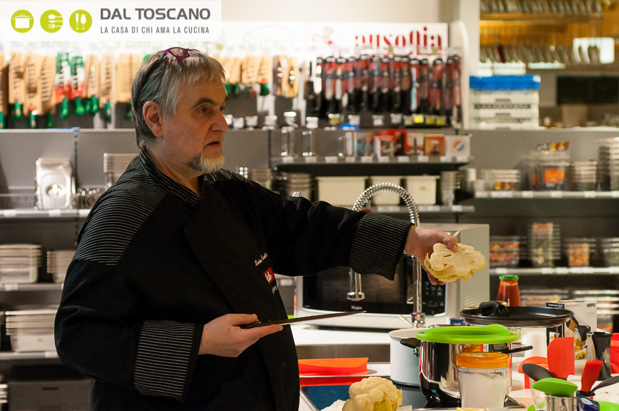 Massimo Cairati cucina Centro Casalinghi Dal Toscano