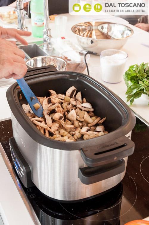 cottura funghi in Multicooker Cuisinart