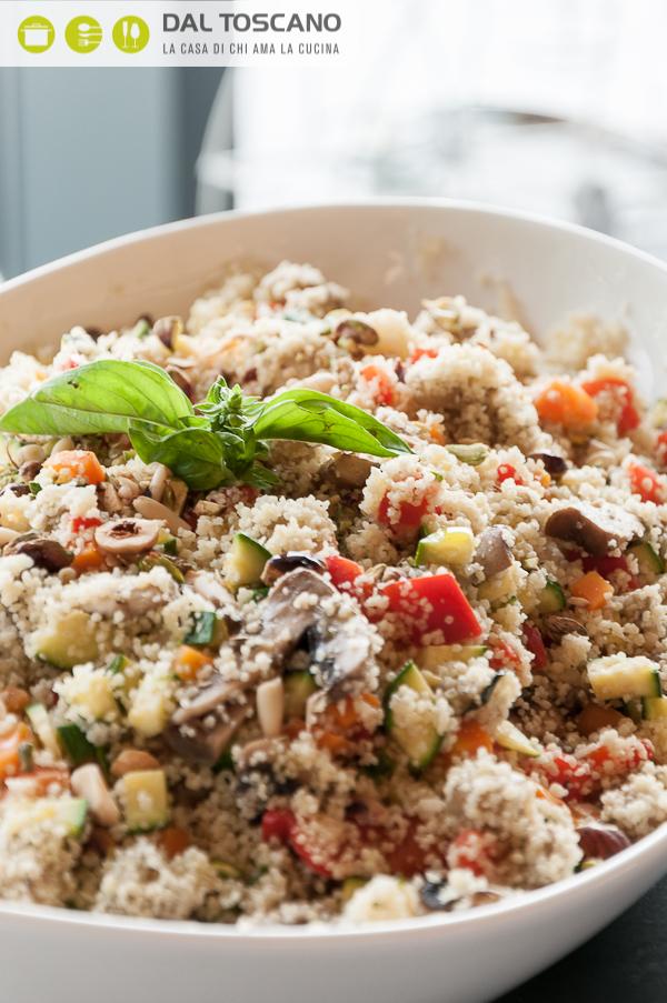 ricetta couscous con verdure e frutta secca