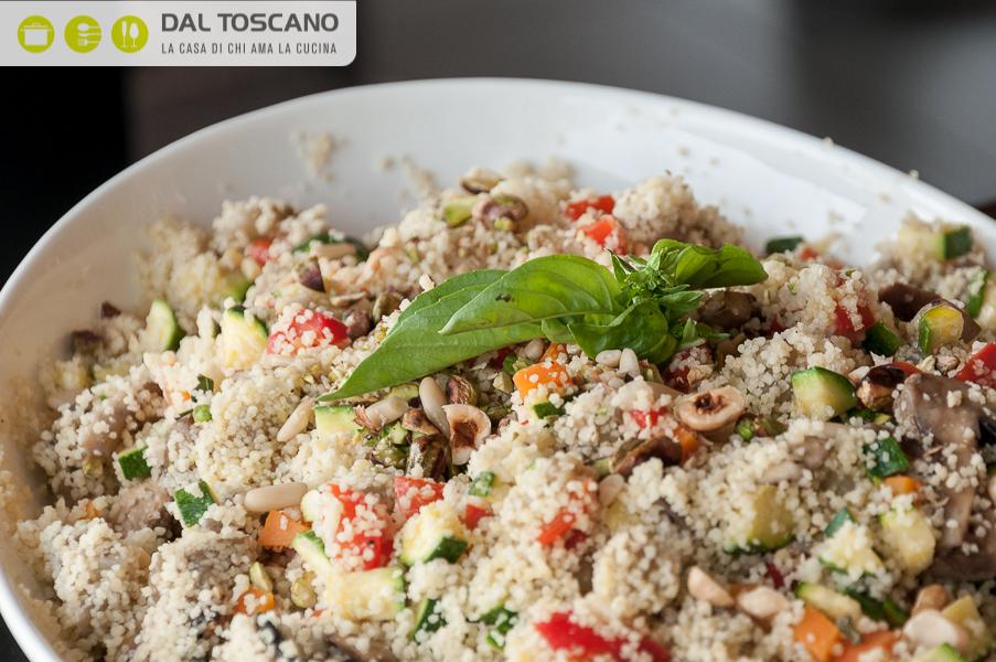 Ricetta Cous cous con verdure cotte a bassa temperatura e frutta secca
