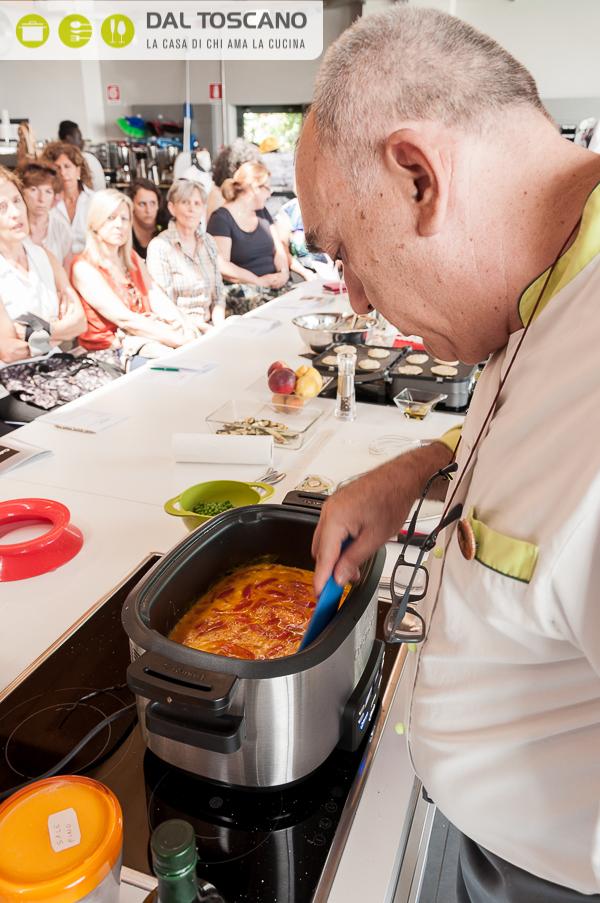 Gianfranco Allari cucina con Cuisinart