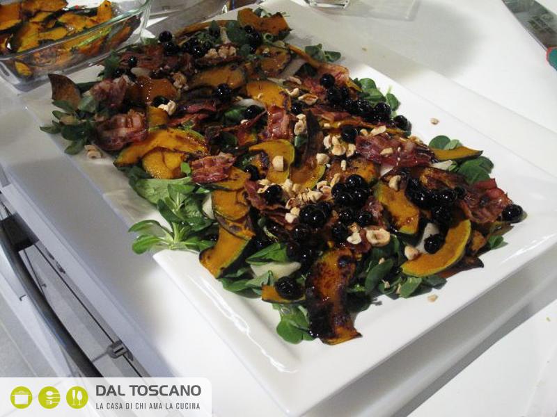 ricetta Insalata autunnale con lamponi e mirtilli Gianfranco Allari