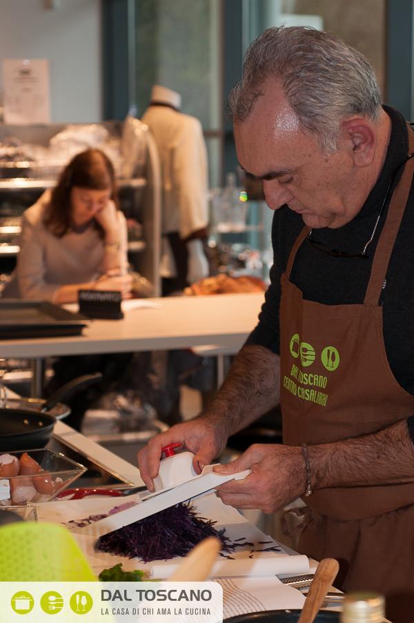Gianfranco Allari cucina Dal Toscano Mantova