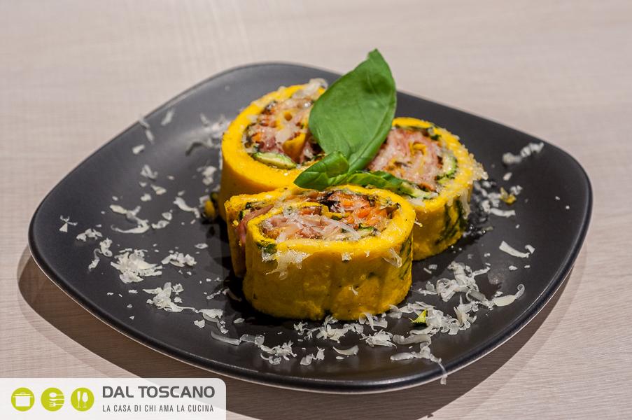 ricetta Girelle di frittata primavera con verdure alla griglia di Gianfranco Allari