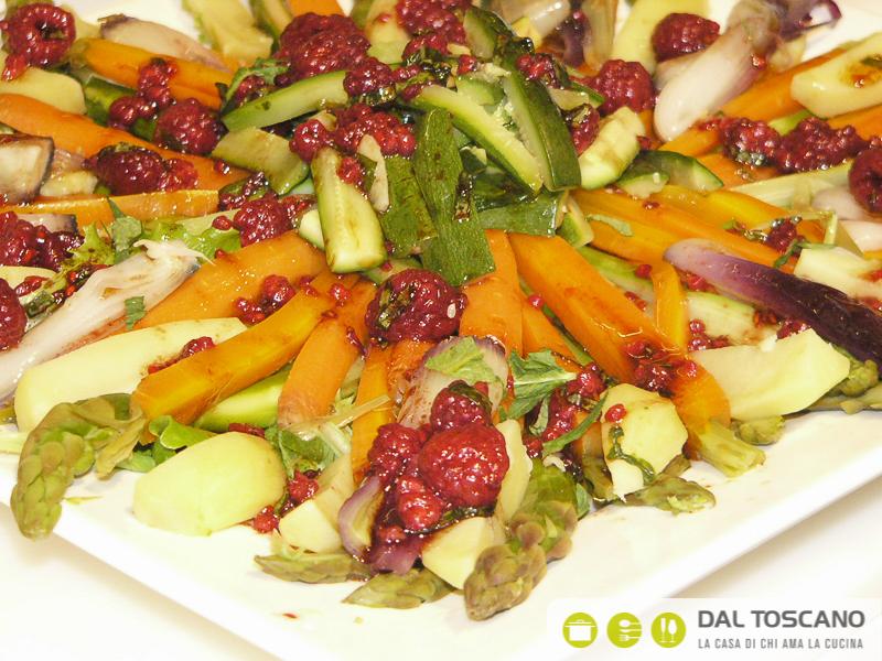 ricetta insalata al vapore