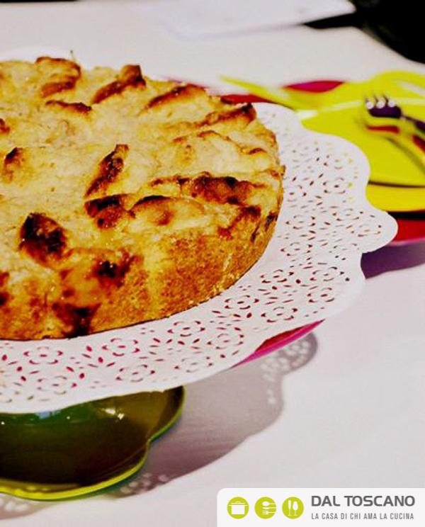 Ricetta torta di mele con briciole Gianfranco Allari