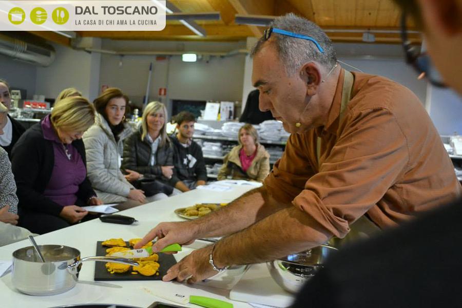 Gianfranco Allari maestro di cucina Dal Toscano Mantova