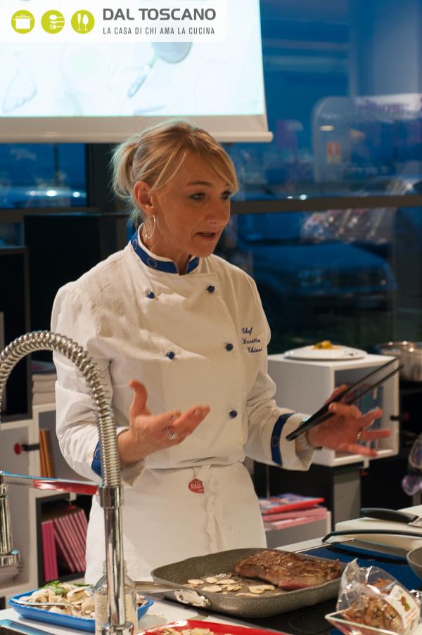 chef Doretta Ghizzi cucina Centro Casalinghi Dal Toscano