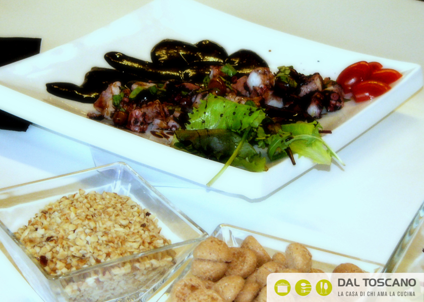ricetta insalata di polipo Elisabetta Arcari