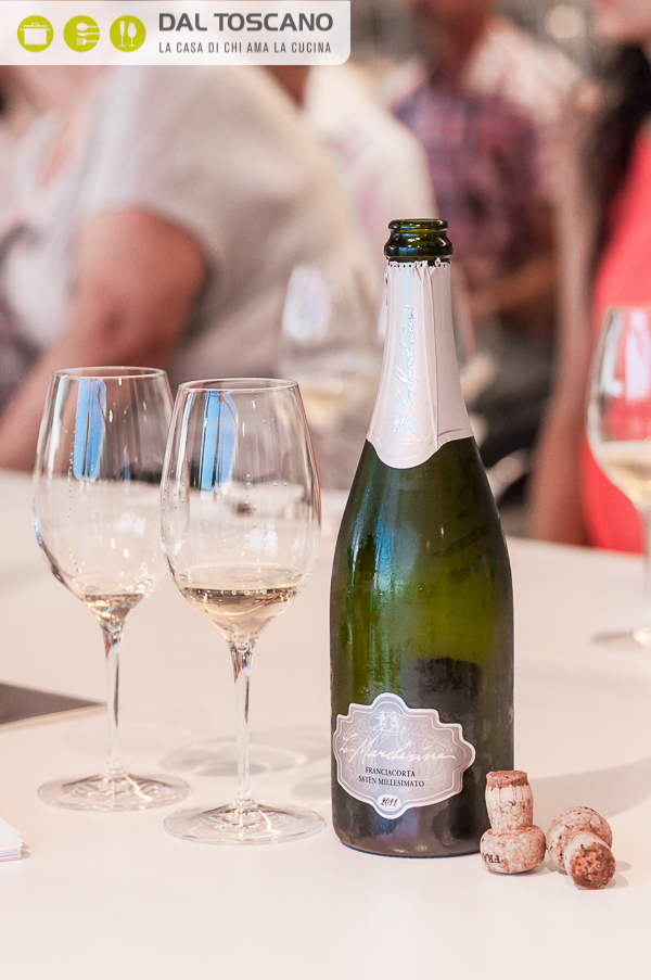 bottiglia vina Franciacorta millesimato