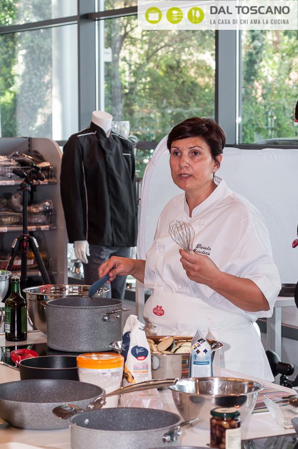 Daniela Menclossi cucina Dal Toscano Mantova