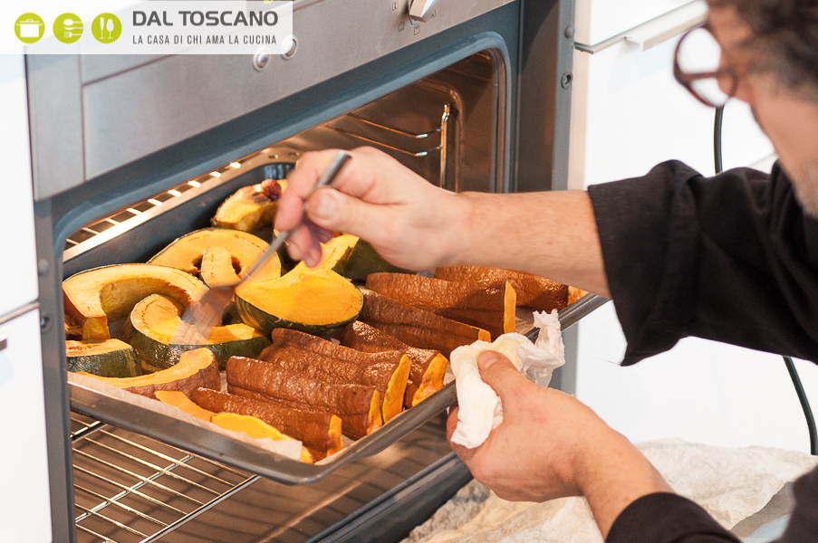 kitchenaid ettore giallongo halloween cucina autunnale zucca cook processor robot da cucina zucca risotto nero carbone