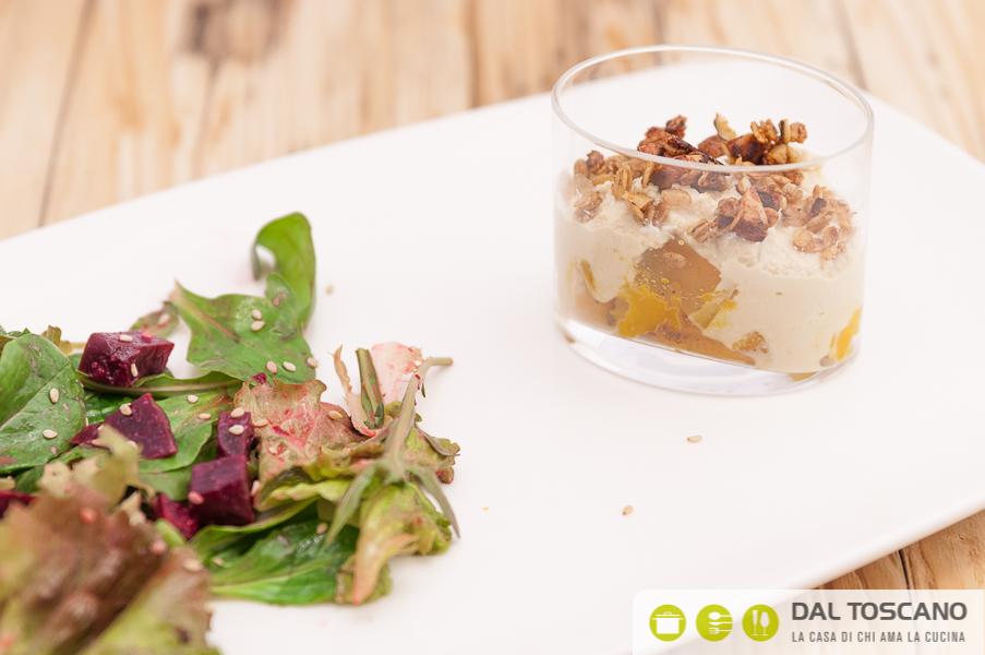 Ricetta insalata con barbabietola rossa al sesamo di Sara Codeluppi