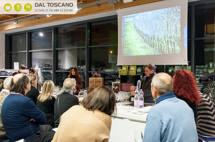 degustazione vino Cantina Ricchi Dal Toscano Mantova