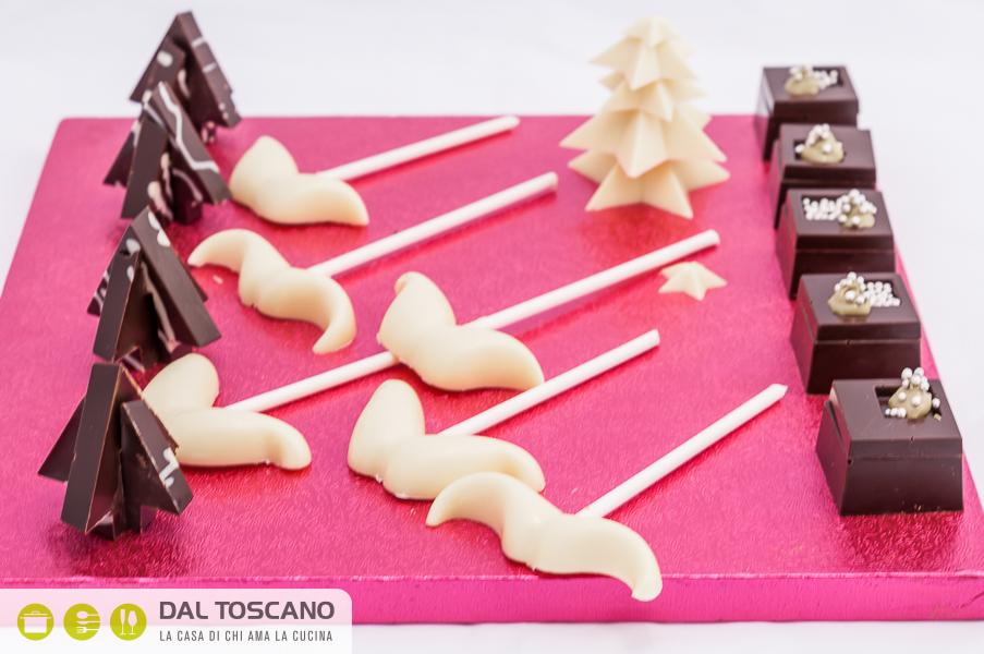 cioccolatini a forma di albero