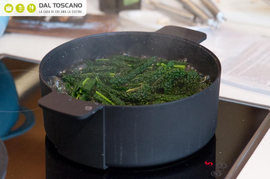 cuocere verdure in acqua di cottura pasta