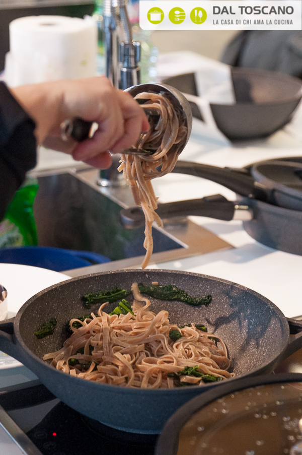 cucinare tagliatelle in pentola Berndes