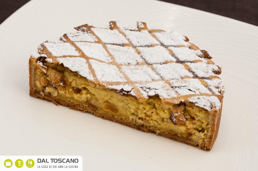 fetta torta pastiera napoletana