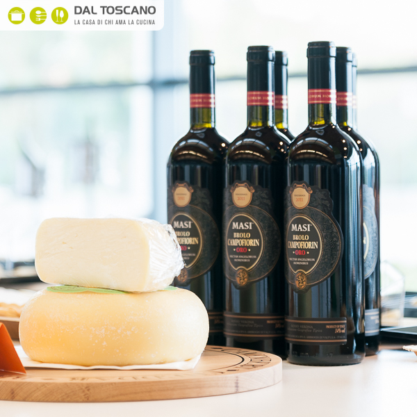 abbinamento vino formaggio