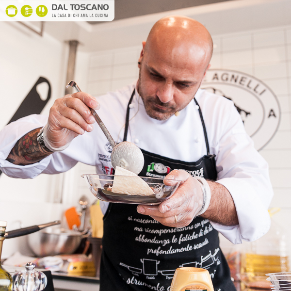 Michele Cannistraro prepara le tortillas