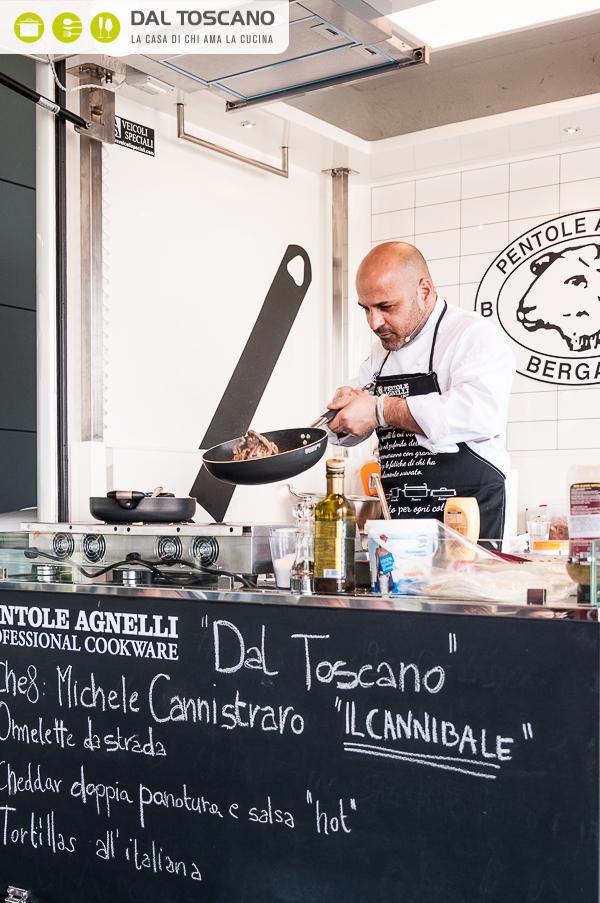 Michele Cannistraro cucina street food Dal Toscano Mantova