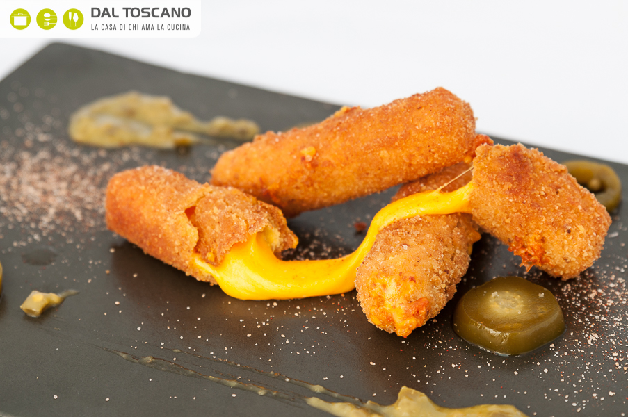 ricetta crocchette cheddar fondente Michele Cannistraro