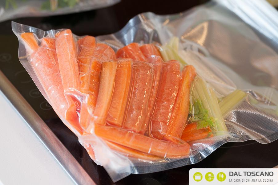 carote sotto vuoto