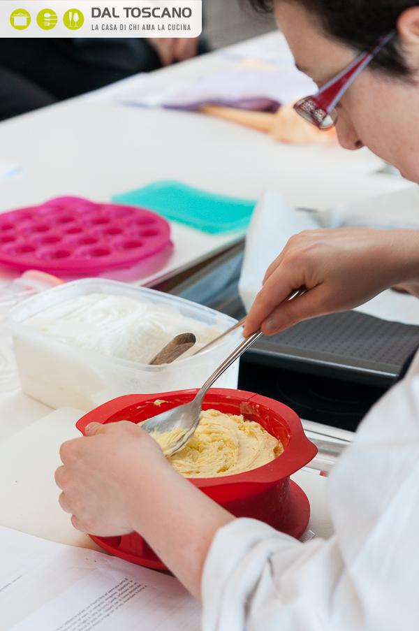 aggiungere secondo strato di gelato