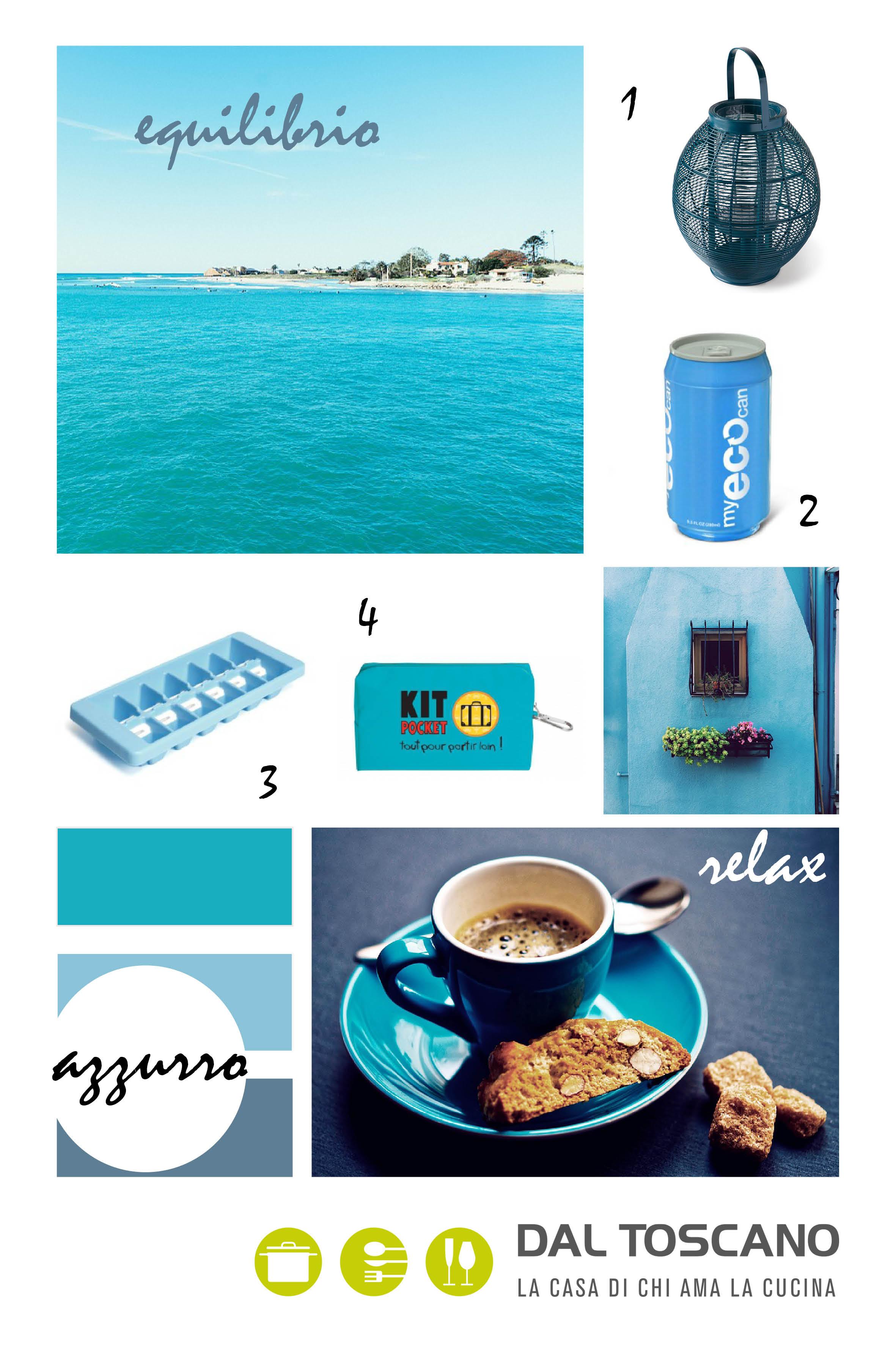 prodotti per la casa colore azzurro