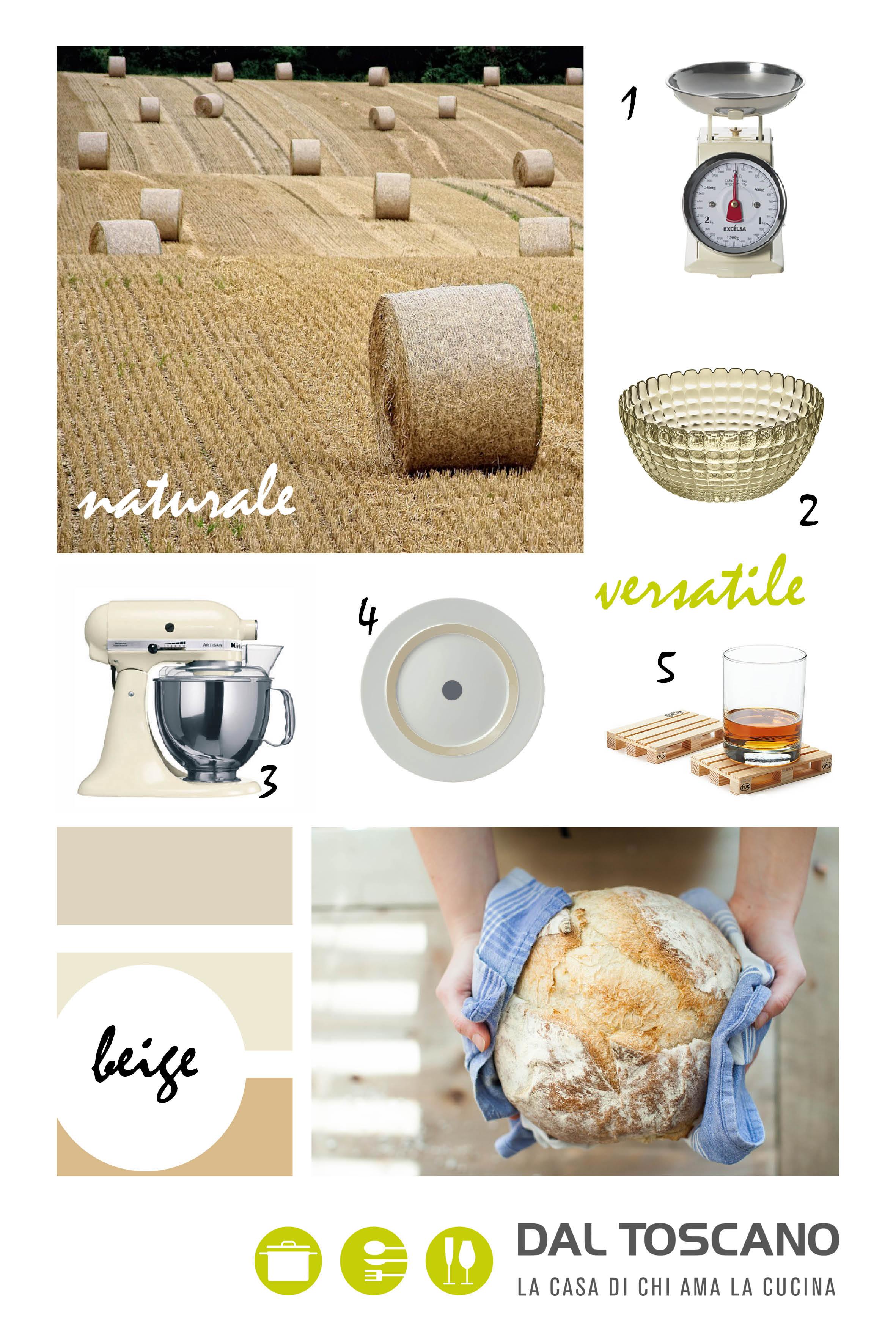 articoli per cucina e casa colore beige