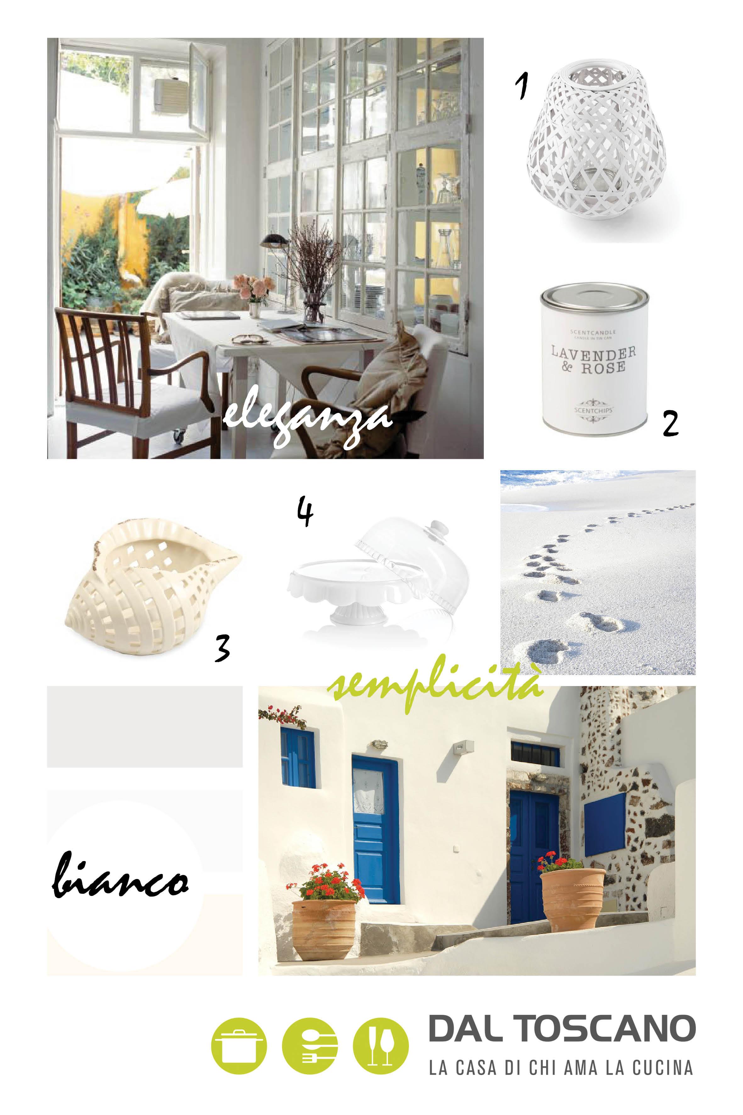 oggetti e accessori per la casa bianchi