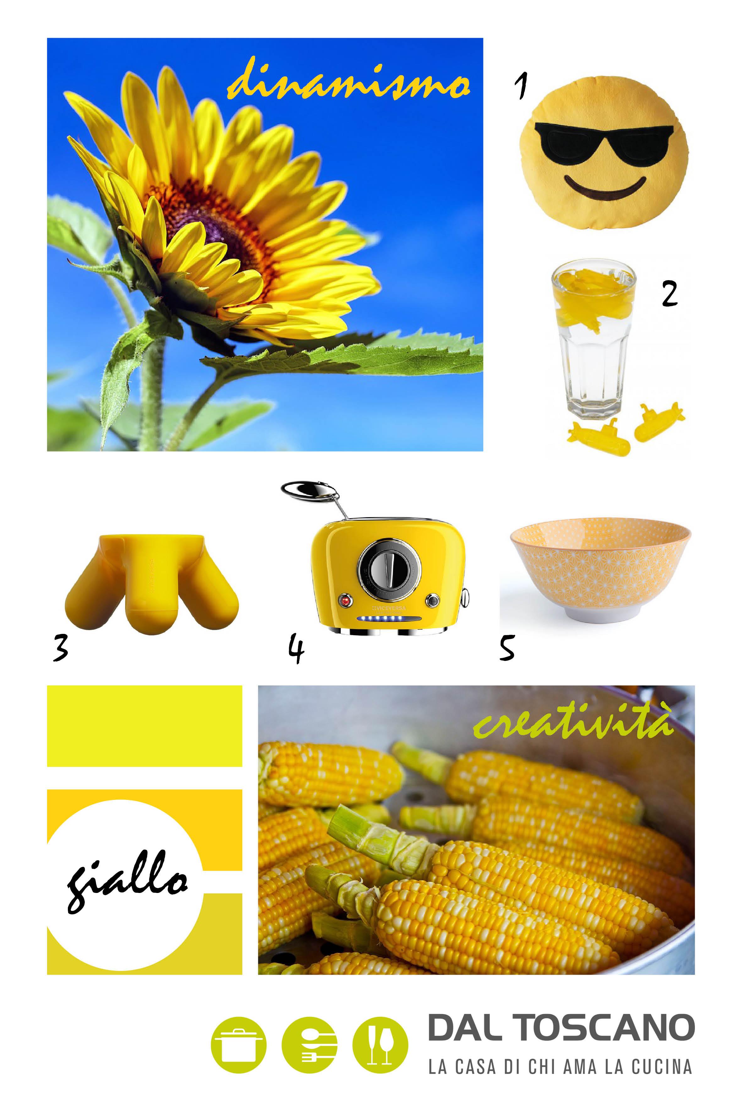 Casalinghi e articoli per la casa gialli