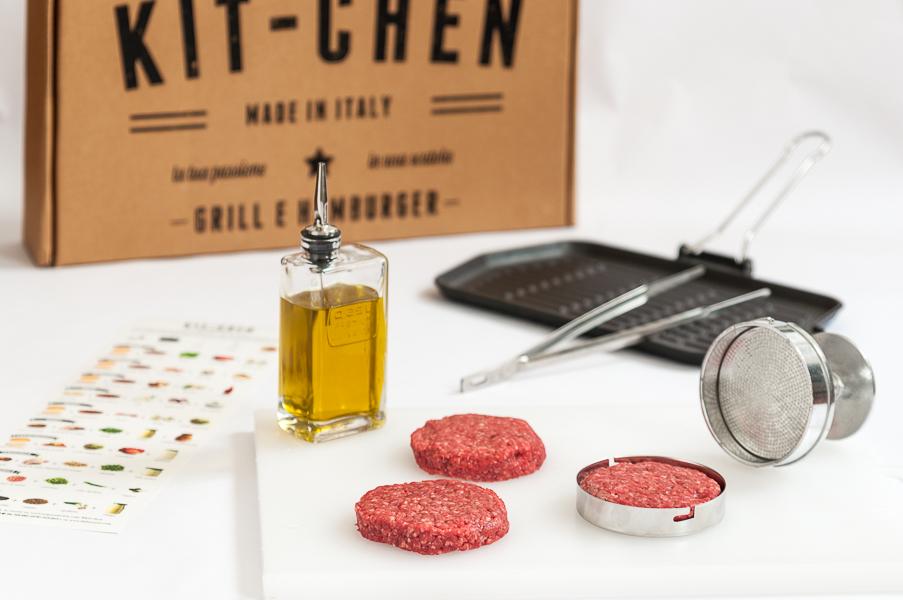 Set da cucina per grill e hamburger Kit-Chen Dal Toscano