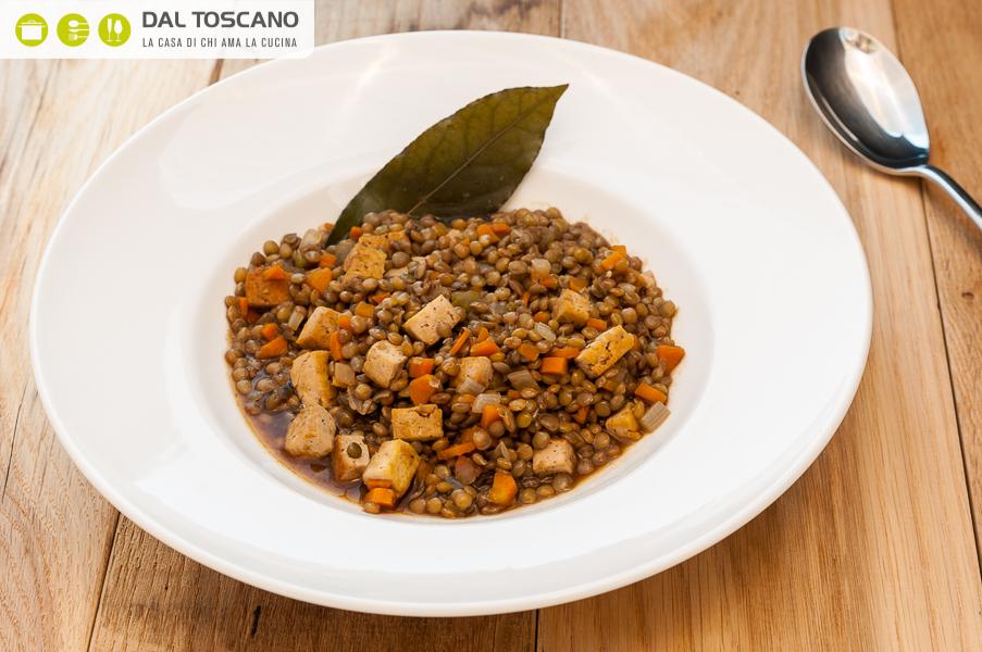 ricetta lenticchie con tofu brasato Sara Codeluppi