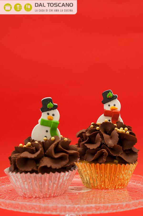 decorazioni dolci pupazzi neve