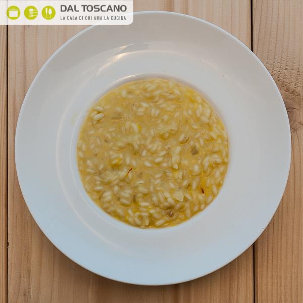 piatto di riso alla milanese