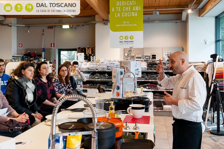 chef Fabio Zanetello Centro Casalinghi Dal Toscano