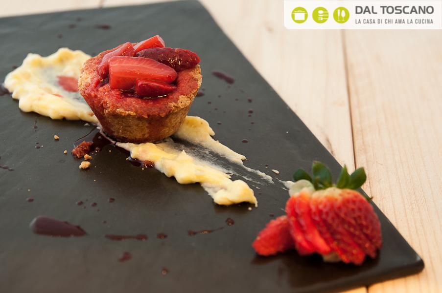 ricetta crostatina senza glutine Roberto Cuculo chef