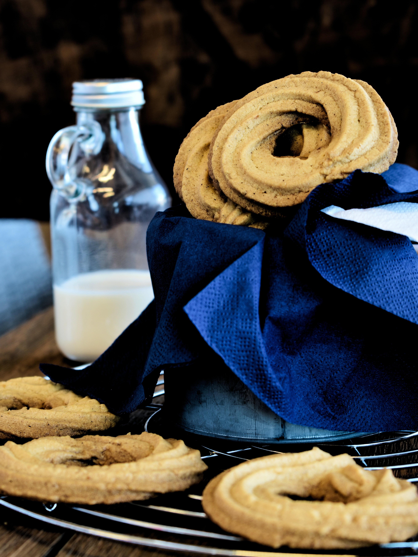 Ricetta biscotti ciambelline al burro e vaniglia