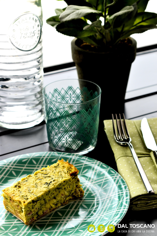 Sformato di zucchine, stracchino e pancetta 2