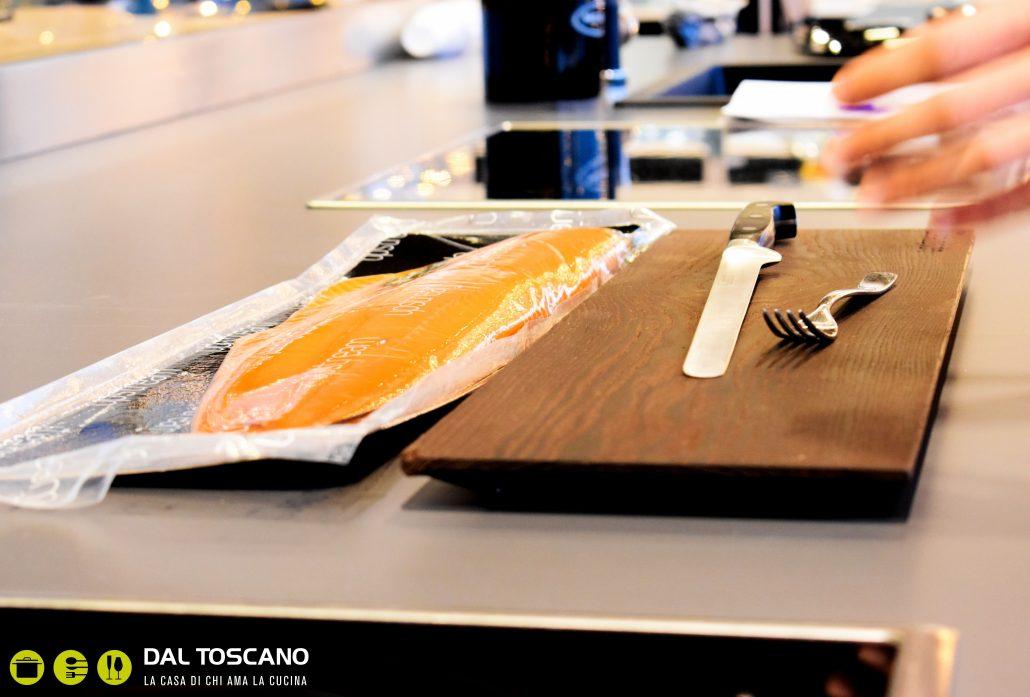 Claudio Cerati salmone Upstream Centro Casalinghi Dal Toscano