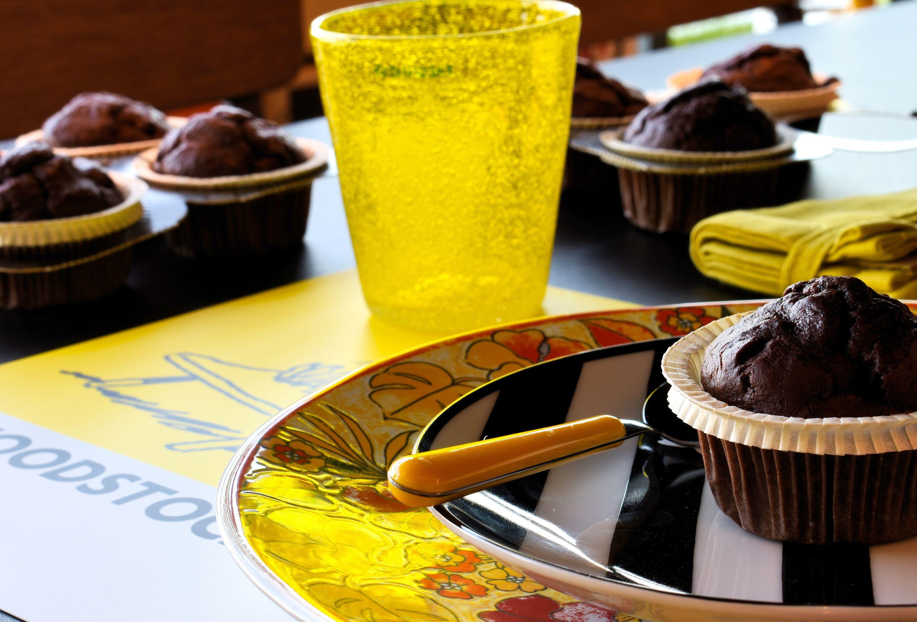 Muffin al cioccolato e banana 2
