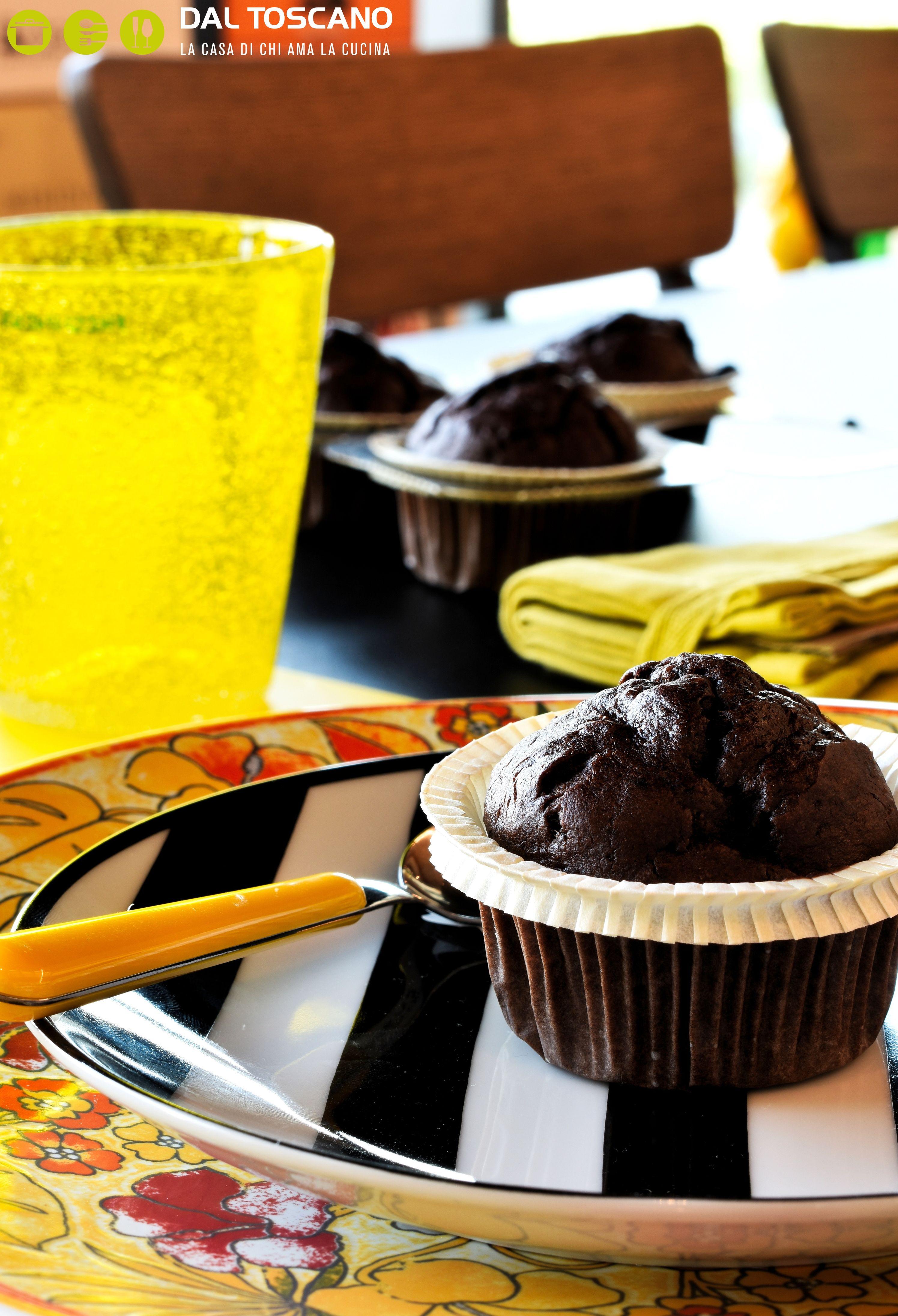 Muffin al cioccolato e banana 1
