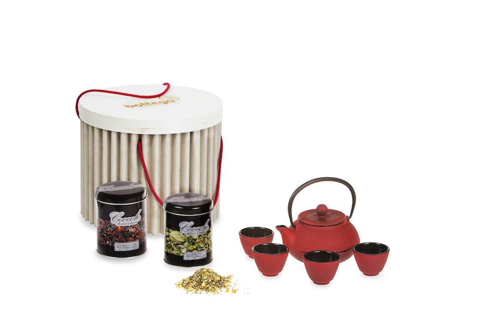 Idea regalo festa donna tè e infusi