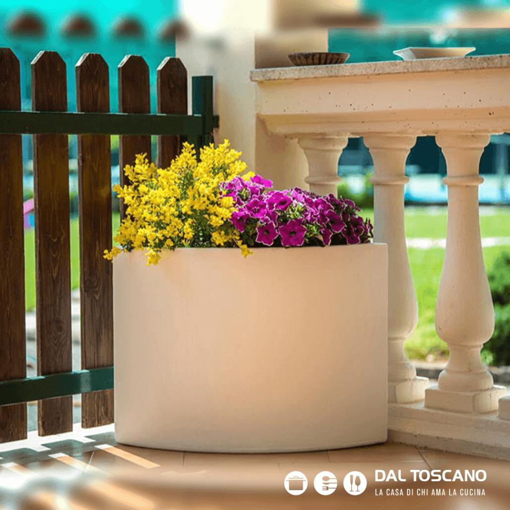 Vaso design per fiori
