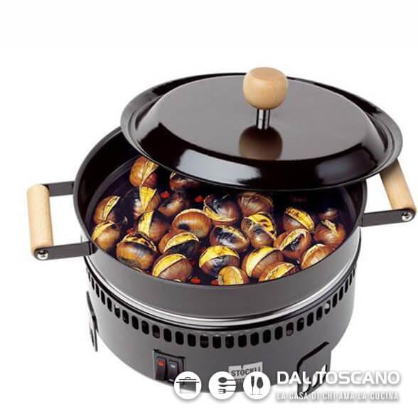 Cuoci castagne elettrico Stockli