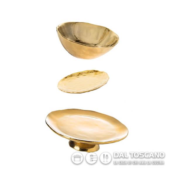 Bitossi Scomposta color oro